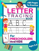 Letter Tracing Book For Kids Ages 3 5