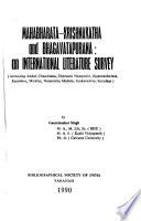 Mahabharata-Krishnakatha and Bhagavatapurana, an International Literature Survey