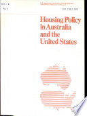 Housing Policy In Australia And The United States
