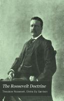 The Roosevelt Doctrine