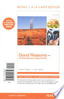 Good Reasons with Contemporary Arguments, Books a la Carte Edition