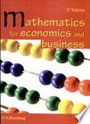 Mathematics for Economics and Business Book