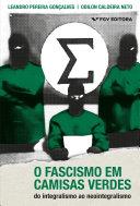 Pdf O fascismo em camisas verdes: do integralismo ao neointegralismo Telecharger