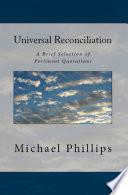 Universal Reconciliation