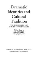 Dramatic Identities and Cultural Tradition