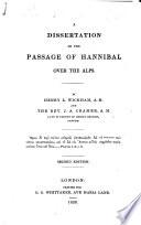 A dissertation on the passage of Hannibal over the Alps     Second edition