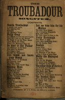 The Troubadour Songster