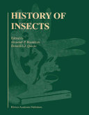 History of Insects