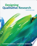 """Designing Qualitative Research"" by Catherine Marshall, Gretchen B. Rossman"