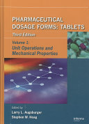 Pharmaceutical Dosage Forms   Tablets  Third Edition Book
