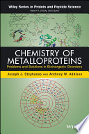 Chemistry Of Metalloproteins Book PDF