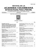Revista de la Academia Colombiana de Ciencias Exactas  F  sicas y Naturales