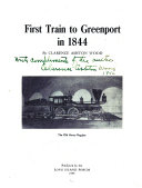 First train to Greenport in 1844
