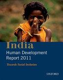 India Human Development Report 2011