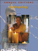 Annual Editions  Anthropology 08 09 Book PDF