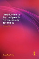 Introduction to Psychodynamic Psychotherapy Technique Pdf/ePub eBook