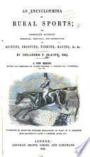 An Encyclopædia of Rural Sports