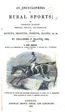 An Encyclopædia of Rural Sports