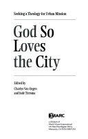 God So Loves the City