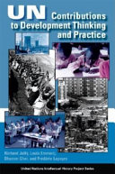 UN Contributions to Development Thinking and Practice