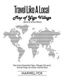 Travel Like a Local   Map of Yigo Village  Black and White Edition