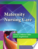 Maternity Nursing Care  Book Only  Book