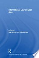 International Law in East Asia