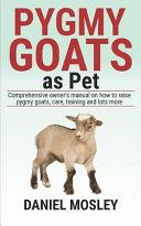 Pygmy Goats As Pet