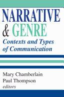 Narrative and Genre