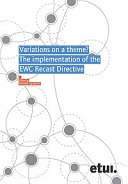 Variations on a theme? The implementation of the EWC Recast Directive
