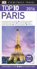 Top 10 Eyewitness Travel Guide   Paris