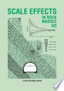 Scale Effects In Rock Masses 93 Book PDF
