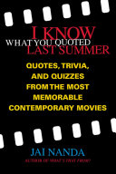 I Know What You Quoted Last Summer Pdf/ePub eBook