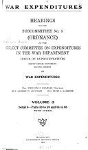 War Expenditures  Ordinance  4 v