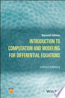 Introduction to Computation and Modeling for Differential Equations Book