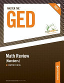 Master the GED: Math Review--Numbers