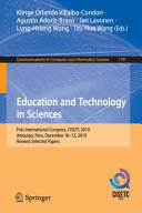 Education and Technology in Sciences