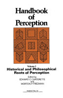 Pdf Historical and Philosophical Roots of Perception Telecharger