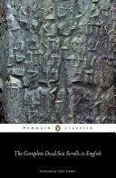 Dead Sea Scrolls  English  The Complete Dead Sea Scrolls in English Book PDF