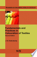 Fundamentals And Practices In Colouration Of Textiles Book PDF