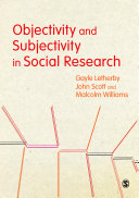 Objectivity and Subjectivity in Social Research [Pdf/ePub] eBook