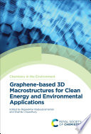 Graphene based 3D Macrostructures for Clean Energy and Environmental Applications