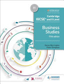 Books - Cam/Ie O Level Business Studies 5th Edition | ISBN 9781510421233