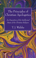 The Principles of Christian Apologetics