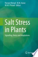 Salt Stress In Plants Book PDF