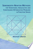 Semismooth Newton Methods for Variational Inequalities and Constrained Optimization Problems in Function Spaces