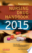 Saunders Nursing Drug Handbook 2015   E Book