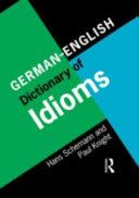 German English Dictionary of Idioms