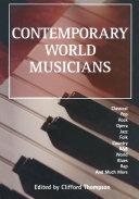 Contemporary World Musicians