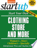 Start Your Own Clothing Store And More Book PDF